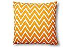 Kasari 20x20 Outdoor Pillow, Orange