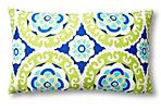 Wasabi 12x20 Outdoor Pillow, Blue