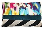Palette 20x20 Cotton Pillow, Multi