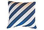 Ronin 20x20 Cotton Pillow, Blue