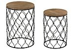 Delia Side Tables, Set of 2