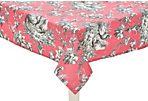 Le Coq Tablecloth, Raspberry/Charcoal