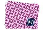 S/25 Initial Mykonos Stationery, Pink