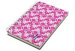 Ring Damask Chunky Notebook, Pink
