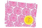 S/ 25 Pom-Pom Stationery, Pink
