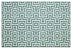 Myrtos Outdoor Rug, Blue