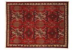 "6'11""x9'2"" Massud Rug, Red"