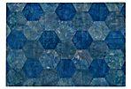 Honeycomb Rug, Turquoise