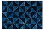 Tile Rug, Indigo/Turquoise