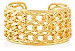 Gold Woven Cuff