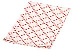 S/4 Simply Dotted Napkins, Orange