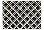 Calpyso Rug, Black/White