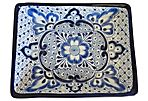 Rectangular Serving Platter, Blue