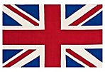 Union Jack Rug, Red