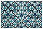 Snead Outdoor Rug, Blue