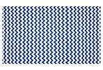 Hugo Outdoor Flat-Weave Rug, Blue