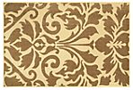 9'x12' Muffy Outdoor Rug, Brown