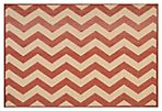 Otthild Outdoor Rug, Brick