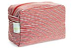 Large Cosmetic Bag, Red