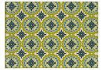 Kau Outdoor Rug, Green/Multi