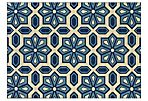 Puna Outdoor Rug, Blue