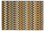 Matana Outdoor Rug, Gray/Gold