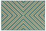 Sampson Outdoor Rug, Blue