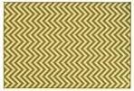 "1'9""x3'9"" Levi Outdoor Rug, Ivory/Green"