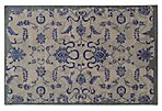 Color Influence Rug, Gray/Blue