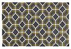 Matrix Rug,  Charcoal/Green