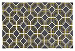 Matrix Rug,  Charcoal/Green