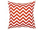 Chevron 20x20 Pillow, Orange