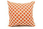 Links 20x20 Pillow, Orange