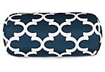 Trellis 8x18.5 Bolster Pillow, Navy