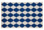 Elsa Flat-Weave Rug, Navy