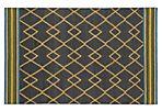 Ciaran Flat-Weave Rug, Charcoal