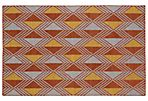 Giaimo Flat-Weave Rug, Paprika