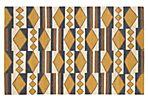 Angela Flat-Weave Rug, Mustard