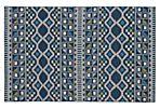 Kane Flat-Weave Rug, Blue