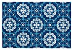 Campo Outdoor Rug, Blue