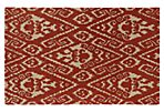 Rana Rug, Red/Tan