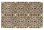 Capri Rug, Brown/Ivory