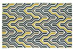 Homs Flat-Weave Rug, Yellow