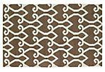 Oran Flat-Weave Rug, Brown