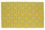 Icel Flat-Weave Rug, Yellow