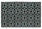 Icel Flat-Weave Rug, Charcoal