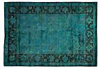 "6'x8'8"" Gigi Rug, Green/Blue"