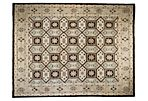 "9'1""x11'9"" Leonides Rug, Brown"