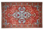 "10'1""x15'10"" Nerys Rug, Red"