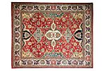 "8'1""x9'9"" Locle Rug, Red"